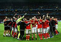Belgium team celebrating the victory. esultanza vittoria<br /> Lille 01-07-2016 Stade Pierre Mauroy Football Euro2016 Wales - Belgium / Galles - Belgio <br /> Quarter-finals. Foto Matteo Ciambelli / Insidefoto