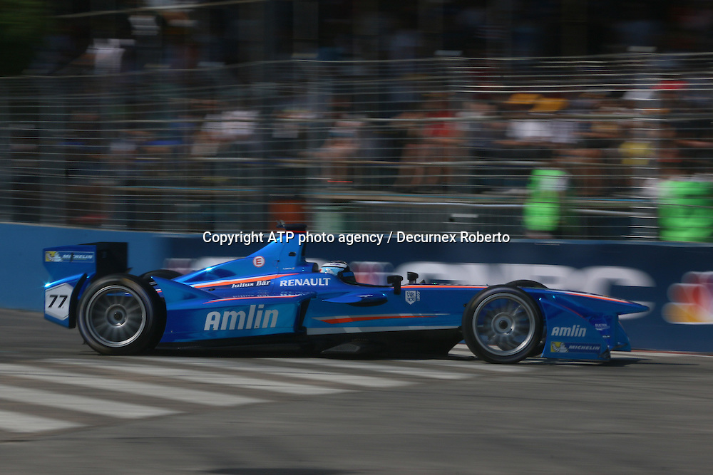 Salvador DURAN, (MEX), Amlin Auguri racing, <br /> Buenos Aires; January 10th 2015, E-Prix, FIA Formula E, <br /> fee liable image, copyright@ ATP Decurnex Roberto