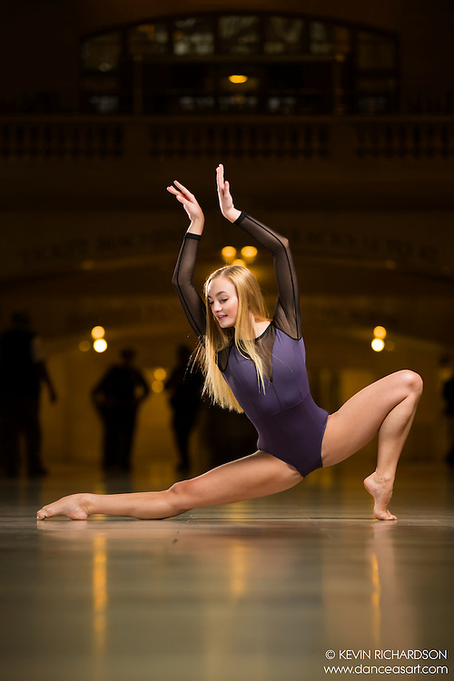 Dance As Art The New York Photography Project Grand Central Series with dancer Kayla Shultz
