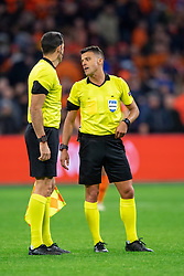 24-03-2019 NED: UEFA Euro 2020 qualification Netherlands - Germany, Amsterdam<br /> Netherlands lost the match 3-2 in the last minute / Referee Jesus Gil Manzano (ESP)