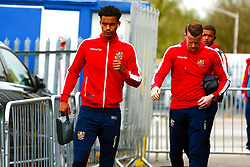 Terence Vancooten of Stevenage arrives at the One Call Stadium, home to Mansfield Town - Mandatory by-line: Ryan Crockett/JMP - 27/04/2019 - FOOTBALL - One Call Stadium - Mansfield, England - Mansfield Town v Stevenage - Sky Bet League Two