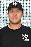 Yong Min &quot;John&quot; Lee.<br /> New Zealand Diamond Blacks Baseball Team headshots.<br /> Llloyd Elsmore Park, Pakuranga, Auckland, New Zealand. 4 February 2016.<br /> Copyright photo: Andrew Cornaga / www.photosport.nz