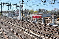 Construction Progress Railroad Station Fairfield Metro Center - Site visit 10 of once per month Chronological Documentation.