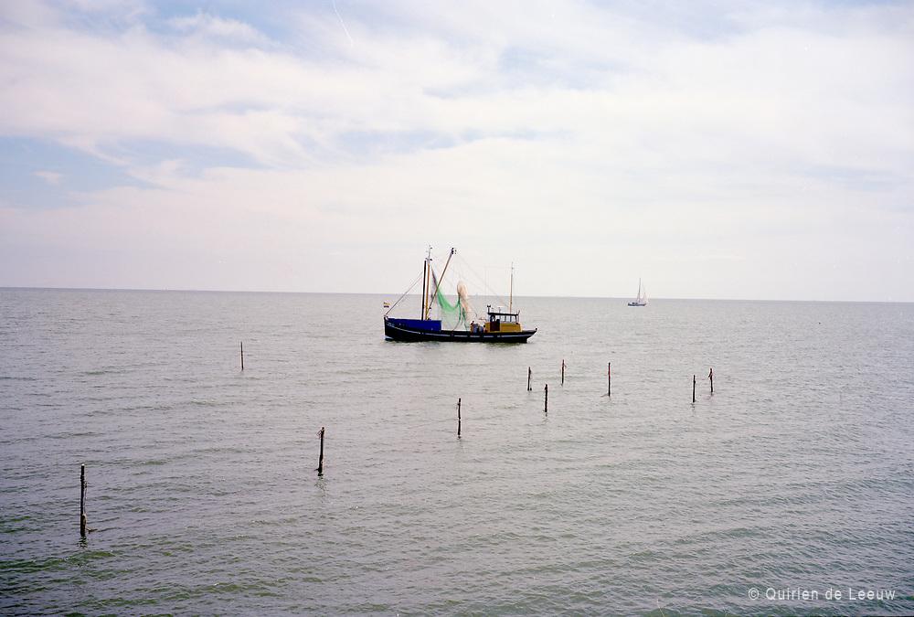 Het IJsselmeer, de vroegere Zuiderzee.
