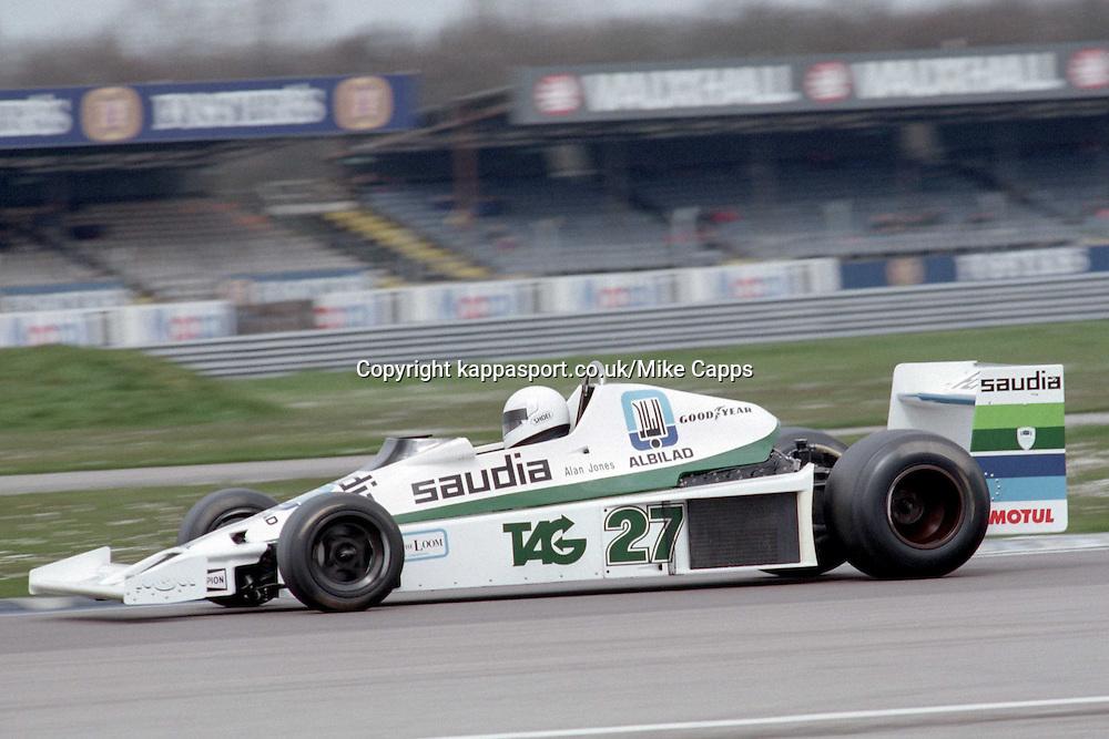 JOHN FENNING WILLIAMS FW06 3000, (ALAN JONES)JOHN FENNING WILLIAMS FW06 3000, BARC Historic Formula One Championship Raceday, Silverstone 17th April 1994