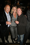 Kira Franck, Brian Stein and Kenny Jones, PJ's Annual Polo Party . Annual Pre-Polo party that celebrates the start of the 2007 Polo season.  PJ's Bar & Grill, 52 Fulham Road, London, SW3. 14 May 2007. <br /> -DO NOT ARCHIVE-© Copyright Photograph by Dafydd Jones. 248 Clapham Rd. London SW9 0PZ. Tel 0207 820 0771. www.dafjones.com.