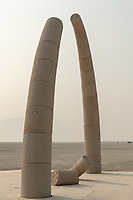 Resolute Arch by: Richard Rhodes, Sculptor from: Seattle, WA year: 2018 My Burning Man 2018 Photos:<br />