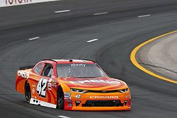 July 14, 2017 - Loudon, NH, United States of America - July 14, 2017 - Loudon, NH, USA: Kyle Larson (42) takes to the track to practice for the Overton's 200 at New Hampshire Motor Speedway in Loudon, NH. (Credit Image: © Justin R. Noe Asp Inc/ASP via ZUMA Wire)