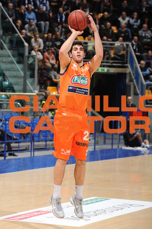 DESCRIZIONE : Bologna Lega Basket A2 2011-12 Conad Biancoblu Basket Bologna Fileni BPA Jesi<br /> GIOCATORE : Marco Santiangeli<br /> CATEGORIA : tiro<br /> SQUADRA : Fileni BPA Jesi<br /> EVENTO : Campionato Lega A2 2011-2012<br /> GARA : Conad Biancoblu Basket Bologna Fileni BPA Jesi<br /> DATA : 18/11/2011<br /> SPORT : Pallacanestro<br /> AUTORE : Agenzia Ciamillo-Castoria/M.Marchi<br /> Galleria : Lega Basket A2 2011-2012 <br /> Fotonotizia : Bologna Lega Basket A2 2011-12 Conad Biancoblu Basket Bologna Fileni BPA Jesi<br /> Predefinita :