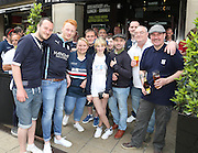 Dundee fans in Croydon for Crystal Palace v Dundee - Julian Speroni testimonial match at Selhurst Park<br /> <br />  - © David Young - www.davidyoungphoto.co.uk - email: davidyoungphoto@gmail.com
