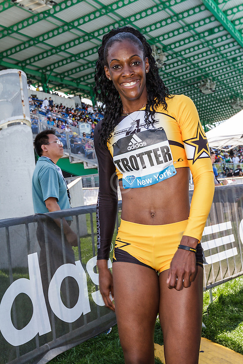 adidas Grand Prix Diamond League Track & Field: womens 400 B, Deedee Trotter