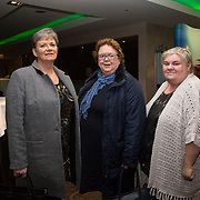 10.10. 2017.          <br /> Pictured at the Limerick Going for Gold 2017 finals in the Strand Hotel were, Catherine Kirby, Eimear O'Connor and Debra Philips. Our Lady of Lourdes Community Service Group.<br /> <br /> <br /> Limerick Going for Gold, which is sponsored by the JP McManus Charitable Foundation, has a total prize pool of over €75,000.  It is organised by Limerick City and County Council and supported by Limerick's Live 95FM, The Limerick Leader and The Limerick Chronicle, The Limerick Post, Parkway Shopping Centre, I Love Limerick and Southern Marketing Media & Design. Picture: Alan Place
