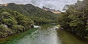 Mavora Lakes Panoramic, South Island, New Zealand