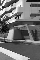 """Zaha Hadid's project """"CityLife"""", a recently requalified residencial area, in central Milan, Italy."""