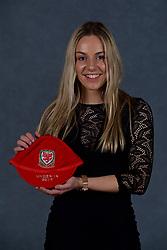 NEWPORT, WALES - Saturday, May 19, 2018: Isabella Reidford during the Football Association of Wales Under-16's Caps Presentation at the Celtic Manor Resort. (Pic by David Rawcliffe/Propaganda)