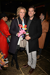 Jack & Kate Freud at The Ivy Chelsea Garden's Guy Fawkes Party, 197 King's Road, London, England. 05 November 2017.