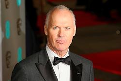 © London News Pictures. Michael Keaton, EE British Academy Film Awards (BAFTAs), Royal Opera House Covent Garden, London UK, 08 February 2015, Photo by Richard Goldschmidt /LNP