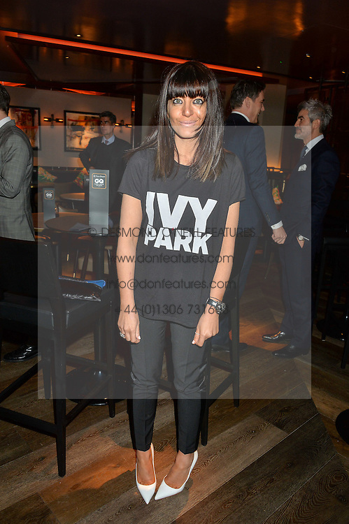CLAUDIA WINKLEMAN at the GQ Food & Drink Awards 2016 presented by Veuve Clicquot held at 100 Wardour Street, Soho, London on 26th April 2016.
