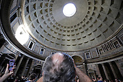 inside the Pantheon Rome