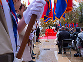 2018-11-11 Surenes Cemetery, WH, ABMC, Sec State, scouts