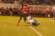 Oxford High's J.R. Anderson (32) vs. Center Hill in Olive Branch, Miss. on Friday, September 21, 2012. Oxford High won.