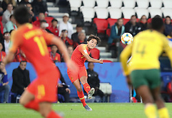 2019?6?13?.   ???????????——B??????????.    6?13???????????????????.    ???????????2019??????????B?????????0?1??????.   ?????????..(190613) -- PARIS, June 13, 2019  Wang Shuang of China delivers the ball during the group B match between South Africa and China at the 2019 FIFA Women's World Cup in Paris, France, June 13, 2019. South Africa lost 0-1. (Credit Image: © Xinhua via ZUMA Wire)