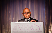 Dr. Vijay Maker honors Dr. Robert M. Gasior at the Mercy Hospital & Medical Center's 51st Dinner Dance Gala at the Hilton Chicago on September 28, 2018. Dr. Robert M. Gasior and Honorable Patrick Huels were honored at the event, emceed by Kristen Nicole, anchor at Fox 32 Chicago. Proceeds will benefit Cardiovascular Services including screening, intervention, rehabilitation, wellness and prevention programs for patients and families. (Photo:Natalie Battaglia)
