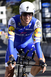September 16, 2017 - Bergen, Norway - BERGEN, NORWAY - SEPTEMBER 16 : GILBERT Philippe (BEL) Rider of Quick-Step Floors Cycling team pictured during the reconnaisance of the Team Time Trial 2017 World Road Championship cycling race on September 16, 2017 in Bergen, Norway, 16/09/2017 (Credit Image: © Panoramic via ZUMA Press)
