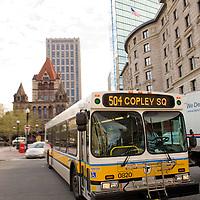 Trinity Church in Copley Square, Boston