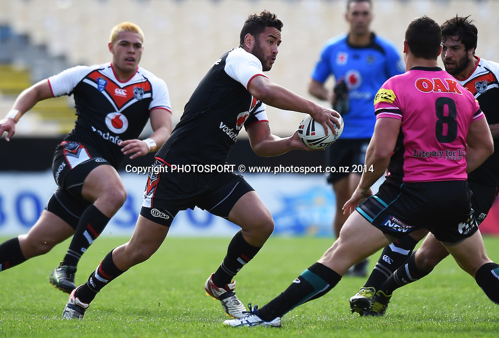 Steve Waetford. Warriors v Penrith. VB NSW Cup Rugby League. Mt Smart Stadium, Auckland. New Zealand. 29 June 2014. Photo: Andrew Cornaga/www.Photosport.co.nz