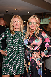 Left to right, Jane Neal and Fru Tholstrup at the third annual Fortnum's x Frank exhibition at Fortnum & Mason, 181 Piccadilly, London, UK on September 12, 2018.<br /> 12 September 2018.
