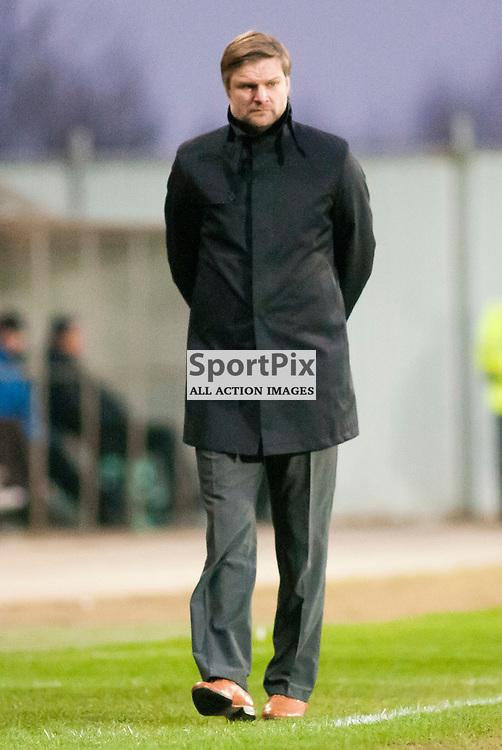 Falkirk Manager Steven Pressley ,Falkirk v Ayr, SFL Division 1 League Match, Falkirk Stadium
