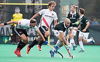 ROTTERDAM - Justin Reid-Ross met Nick Catlin (R'dam) bij de finale Rotterdam-Amsterdam van de ABN AMRO cup 2017 . COPYRIGHT KOEN SUYK