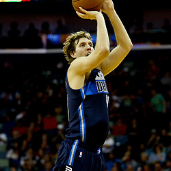 Dec 26, 2016; New Orleans, LA, USA;  Dallas Mavericks forward Dirk Nowitzki (41) shoots against the New Orleans Pelicans during the second quarter of a game at the Smoothie King Center. Mandatory Credit: Derick E. Hingle-USA TODAY Sports