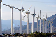 California, Wind Turbine Farm.