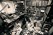 Gilles Peterson in his Studio, 2000s