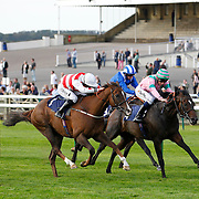 Mabait and George Buckell winning the 4.50 race
