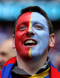 Crystal Palace fans at Wembley for the FA Cup Final - Mandatory by-line: Robbie Stephenson/JMP - 21/05/2016 - FOOTBALL - Wembley Stadium - London, England - Crystal Palace v Manchester United - The Emirates FA Cup Final