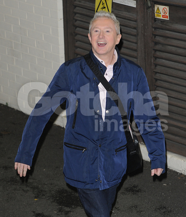 X Factor Louis Walsh leaving the X Factor studios in Wembley, UK. 07/12/2014<br /> BYLINE MUST READ : GOTCHAIMAGES.COM<br /> <br /> Copyright by &copy; Gotcha Images Ltd. All rights reserved.<br /> Usage of this image is conditional upon the acceptance <br /> of Gotcha Images Ltd, terms and conditions available at<br /> www.gotchaimages.com