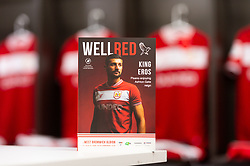 Bristol City match day programme prior to kick off  - Mandatory by-line: Ryan Hiscott/JMP - 09/04/2019 - FOOTBALL - Ashton Gate Stadium - Bristol, England - Bristol City v West Bromwich Albion - Sky Bet Championship