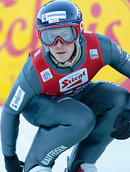 20.12.2015, Nordische Arena, Ramsau, AUT, FIS Weltcup Nordische Kombination, Skisprung, im Bild Tim Hug (SUI) // Tim Hug of Switzerland during Skijumping Competition of FIS Nordic Combined World Cup, at the Nordic Arena in Ramsau, Austria on 2015/12/20. EXPA Pictures © 2015, PhotoCredit: EXPA/ JFK