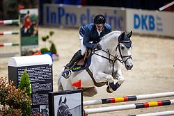 HASSMANN Felix (GER), Cayenne WZ<br /> - Stechen -<br /> VEOLIA Championat<br /> Int. jumping competition with 1 jump-off (1.50 m) - CSI3*<br /> Comp. counts for the LONGINES Rankings<br /> Braunschweig - Classico 2020<br /> 07. März 2020<br /> © www.sportfotos-lafrentz.de/Stefan Lafrentz