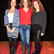 NLD/Amsterdam/20141217 - Musical Awards Nominatielunch 2015, Birgit Schuurman, Esther Maas, Marjolein Teepen