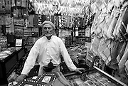 Shop keeper in old San'a.