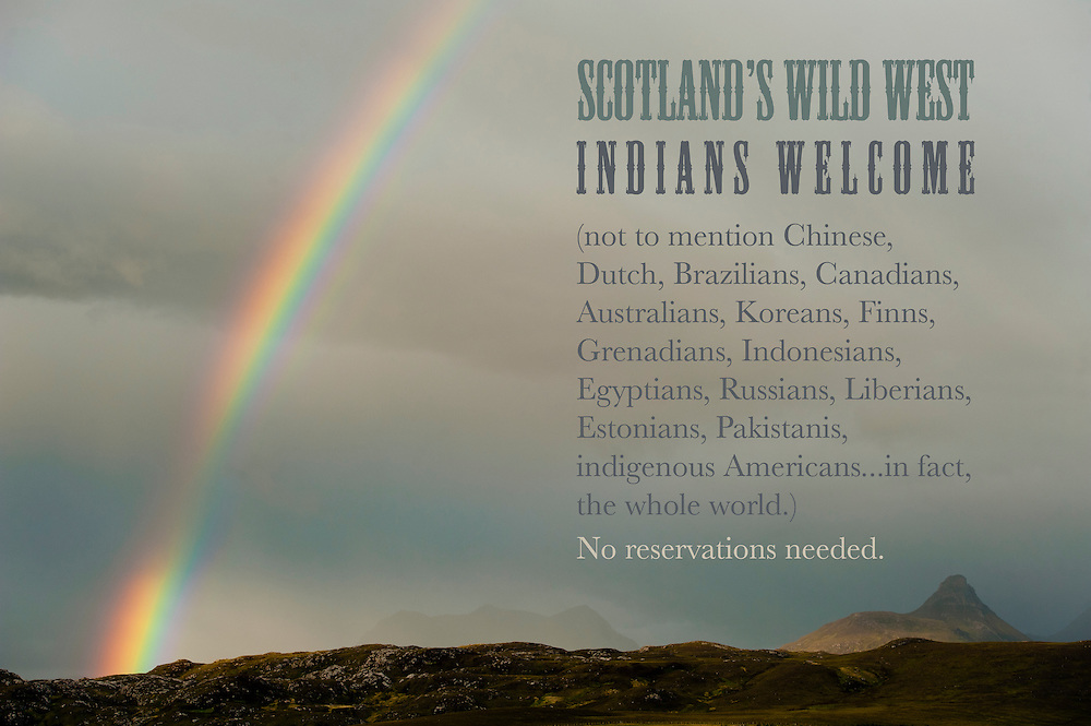 Visitors welcome to Scotland's Wild West