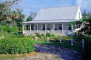 Traditional house, Grand Cayman, Cayman Islands,
