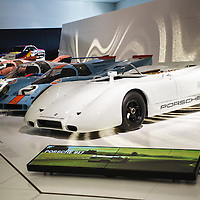 Porsche 917s at the Porsche Museum in Stuttgart on 15 Feb. 2010