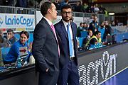 DESCRIZIONE : Cantu, Lega A 2015-16 Acqua Vitasnella Cantu' Enel Brindisi<br /> GIOCATORE : Tullio M. Marino<br /> CATEGORIA : Pregame<br /> SQUADRA : Enel Brindisi<br /> EVENTO : Campionato Lega A 2015-2016<br /> GARA : Acqua Vitasnella Cantu' Enel Brindisi<br /> DATA : 31/10/2015<br /> SPORT : Pallacanestro <br /> AUTORE : Agenzia Ciamillo-Castoria/I.Mancini<br /> Galleria : Lega Basket A 2015-2016  <br /> Fotonotizia : Cantu'  Lega A 2015-16 Acqua Vitasnella Cantu'  Enel Brindisi<br /> Predefinita :