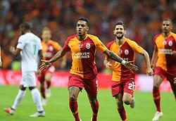 September 18, 2018 - °Stanbul, Türkiye - Galatasaray's Garry Rodrigues celebrate his goal during Galatasaray - Lokomotiv Moscow UEFA Champions League Game at Turk Telekom Arena, 18th of Sept. 2019. (Credit Image: © Mahmut Burak Burkuk/Depo Photos via ZUMA Wire)