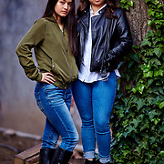 Daniela and Ericka Final Retouched Portraits